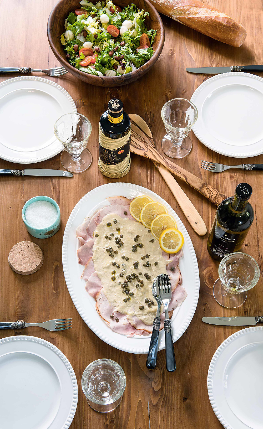 Salata und Vitello Tonnato