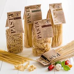 Food Brothers Spaghetti mit Weizenkeim