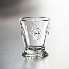 La Rochère 6 Trinkgläser mit Lilien