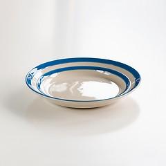 4 Kleine Teller Cornishware Blau
