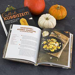 Kochbuch 'Endlich Kürbiszeit'