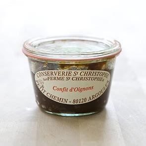 St Christophe Zwiebelconfit