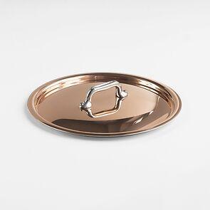 Mauviel Kupfer-Deckel mit Edelstahl-Griff Ø 20 cm