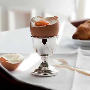 Eierbecher aus Sterlingsilber