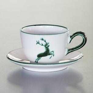 Grüner Hirsch Untertasse