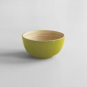 Bambus Salatschüssel S Hellgrün