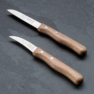 Omas Küchenmesser von Otter mit Buchenholzgriffen