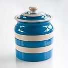 Vorratsglas 1,6 l Cornishware Blau