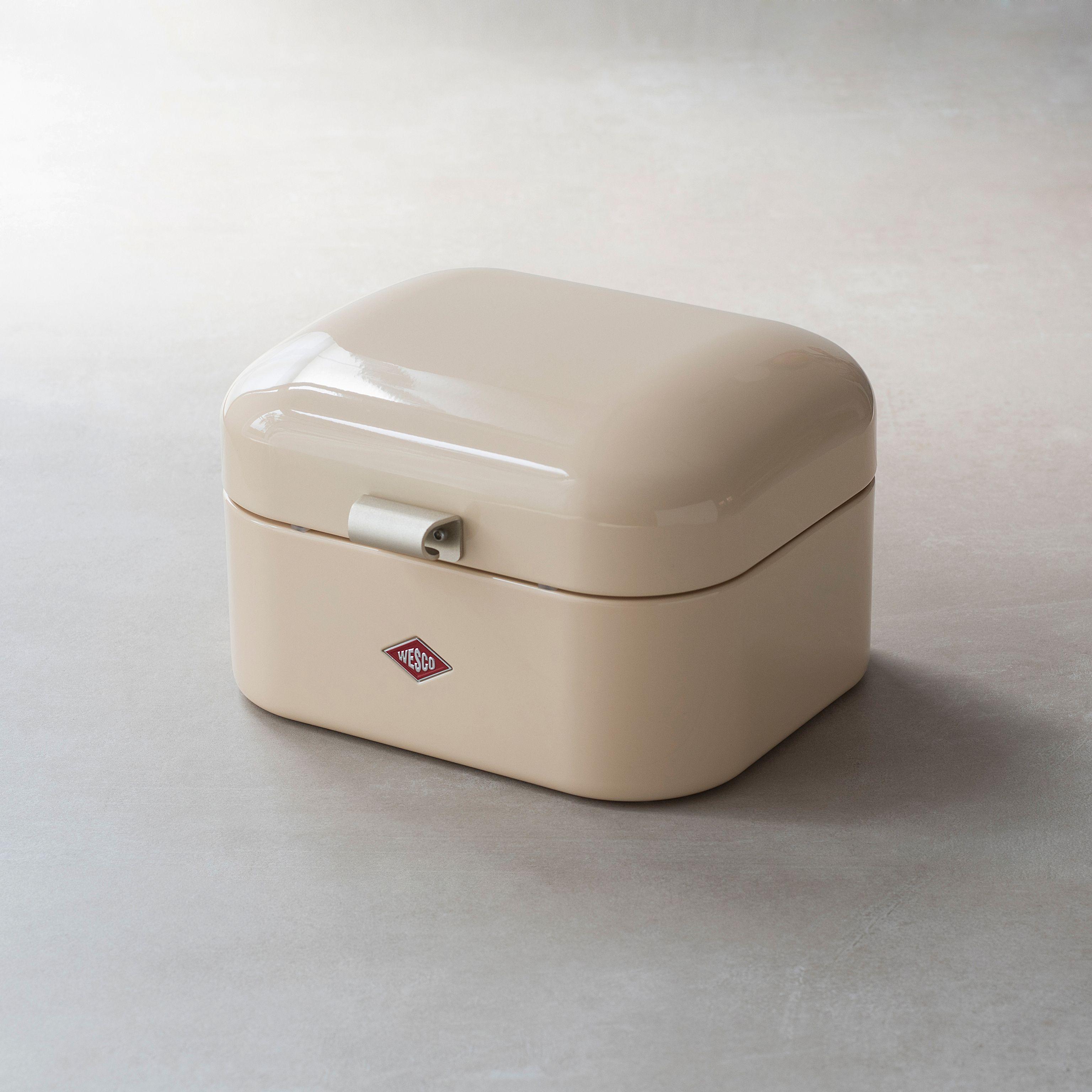 Wesco single grandy retro design brotkasten brotbox mandel