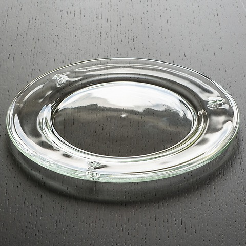 La Rochère Glasteller mit Biene 25 cm