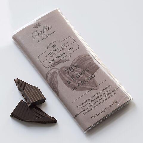 Dolfin Schokolade 70% Kakao 70 g