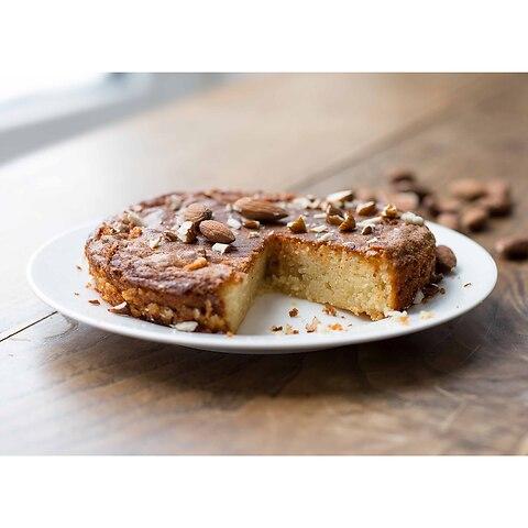 Provençalischer Mandelkuchen