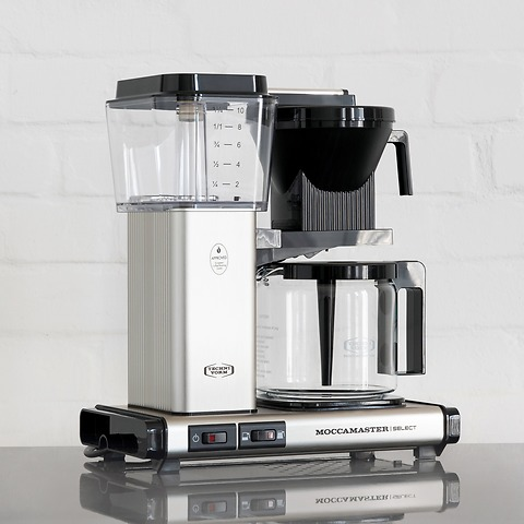 Kaffeemaschine Moccamaster KBGSelect Gebürstet