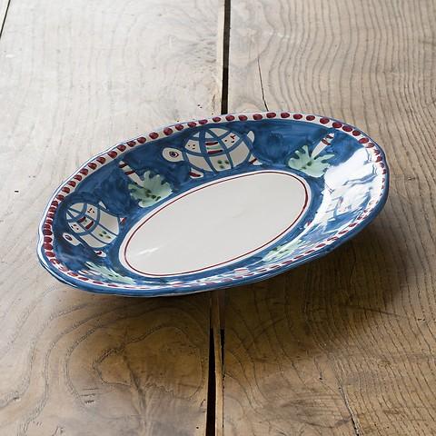 Campagna ovale Platte klein