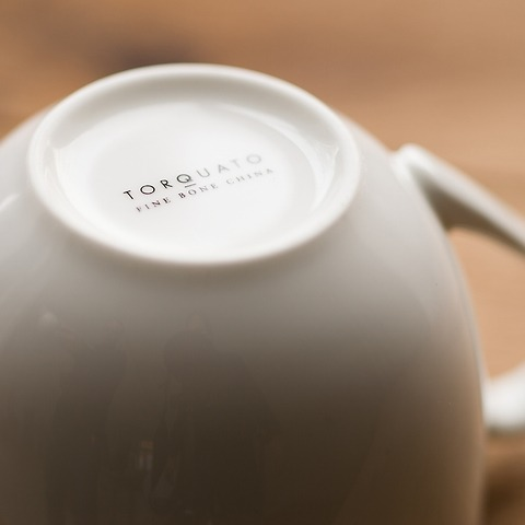 Torquato Fine Bone China Teekanne