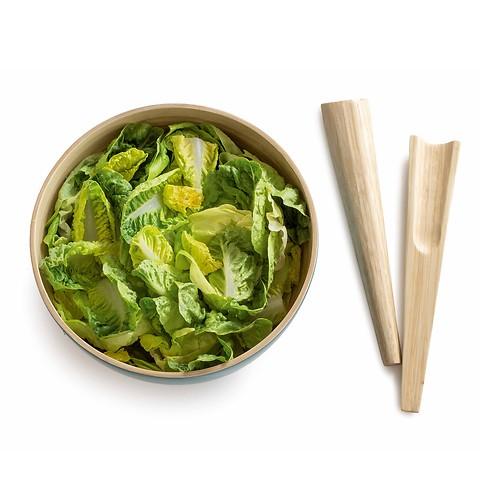Salatschüssel Bambus L
