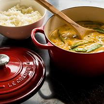 Hähnchen-Curry mit Mango