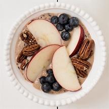 Heidelbeer-Apfel-Bowl