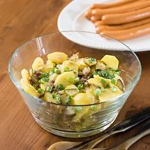 Pellkartoffelsalat mit Frühlingsvinaigrette
