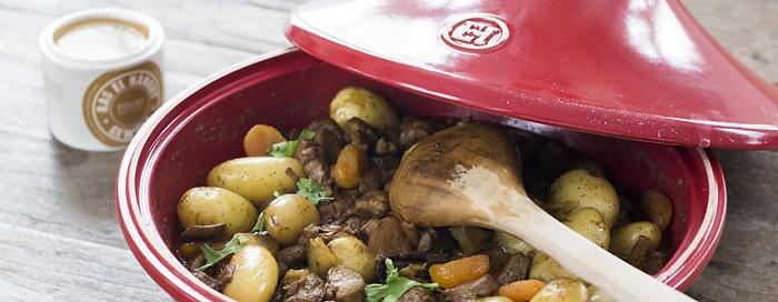Lamm-Tajine mit Kartoffeln