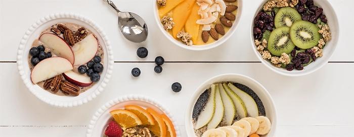 Orangen-Porridge-Bowl